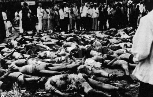 强奸,被日本731部队做活体实验.图为731部队进行活体解剖,利用